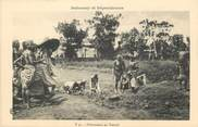 """Afrique CPA AFRIQUE DAHOMEY """"Dahoméens au travail"""""""