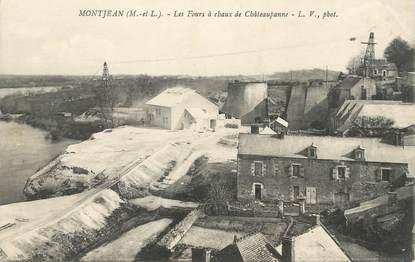 """CPA FRANCE 49 """"Montjean, les fours à chaux de Château panne"""""""
