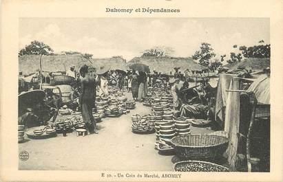 """CPA AFRIQUE DAHOMEY """"un coin du marché, Abomey"""""""