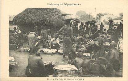 "CPA AFRIQUE DAHOMEY ""Le marché, Abomey"""