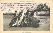 """Afrique CPA AFRIQUE DAHOMEY """"Chefs dahoméens"""""""
