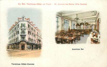 """CPA  FRANCE 06 """"Cannes, Terminus Hotel"""""""