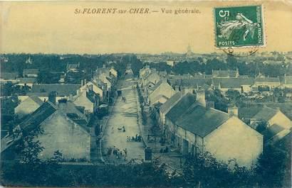 """CPA FRANCE 18 """"Saint Florent sur Cher, vue générale"""""""