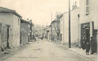 "CPA  FRANCE 38 ""Fines, Grande rue"""