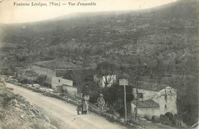 """CPA  FRANCE 83 """"Fontaine Léveque"""""""