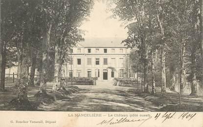 """CPA  FRANCE 28 """"La Mancelière, le chateau"""""""