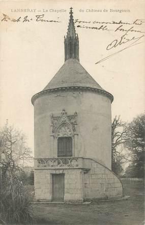 """CPA  FRANCE 28 """"Lanneray, la chapelle du chateau de Bourgoin"""""""