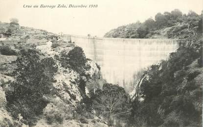 """CPA  FRANCE 13 """"Aix, Crue au Barrage Zola, 1910"""""""