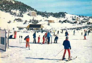 """CPSM FRANCE 06 """"Gréolières les neiges"""" / SKI"""