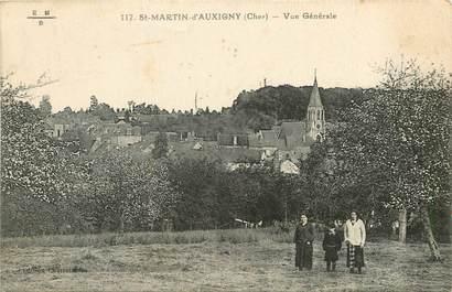 """CPA FRANCE 18 """"Saint Martin d'Auxigny, vue générale"""""""