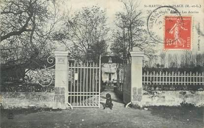 """/ CPA FRANCE 49 """"Saint Martin de la place, les Acacias"""""""