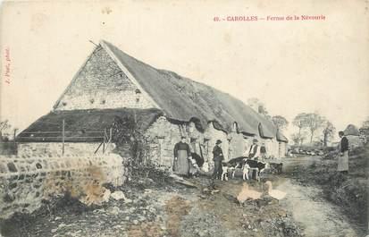 """/ CPA FRANCE 50 """"Carolles, ferme de la Névourie"""""""
