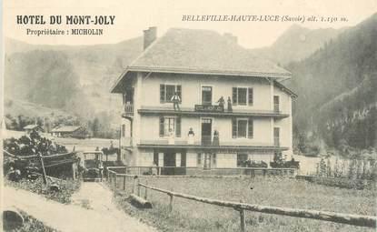 """CPA FRANCE 73 """"Belleville Haute Luce, Hotel du Mont Joly, Pr. Micholin"""""""