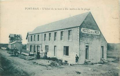 "/ CPA FRANCE 50 ""Port Bail, l'hôtel de la mer"""