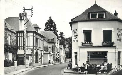 """/ CPSM FRANCE 50 """"Saint Jean Le Thomas, place Pierre Le Jaudet"""""""