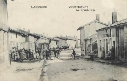 """/ CPA FRANCE 51 """"Courtémont, la grande rue"""""""