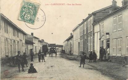 """/ CPA FRANCE 51 """"Larzicourt, rue des Dames"""""""