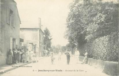 "/ CPA FRANCE 51 ""Jonchery sur Vesle, av de la gare"""