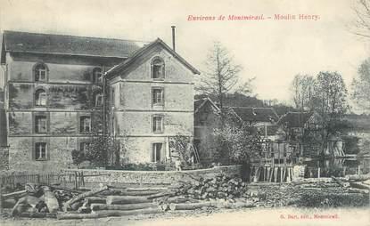 "/ CPA FRANCE 51 ""Environs de Montmirail, moulin Henry """