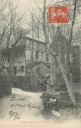 """/ CPA FRANCE 51 """"Saint Amand, moulin du Chantre """""""