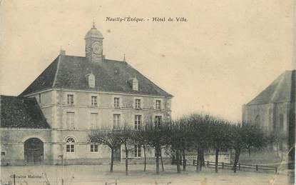 """/ CPA FRANCE 52 """"Neuilly l'Evêque, hôtel de ville"""""""