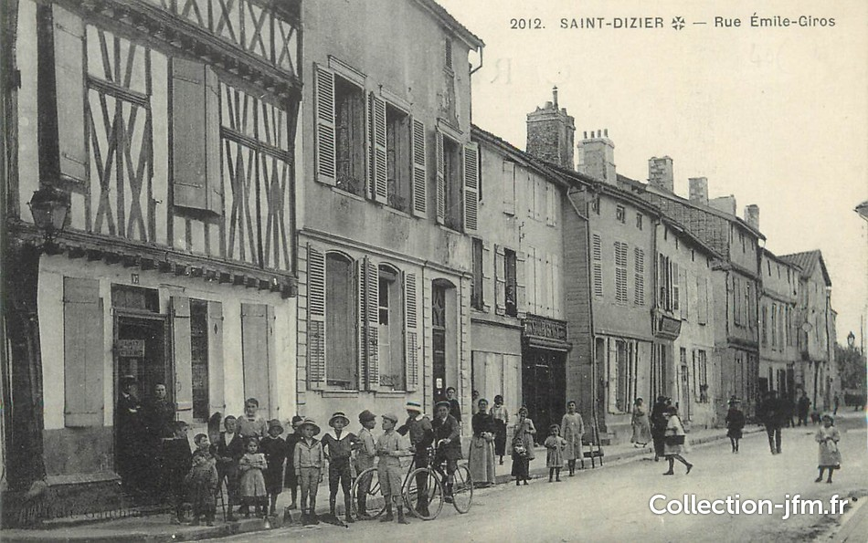 Saint-Dizier France  City pictures : CPA FRANCE 52