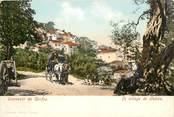 """Grece CPA GRECE """"Souvenir de Corfou, village de Peleka"""""""