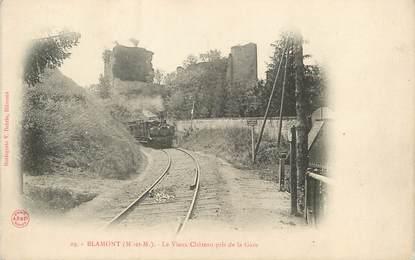 """/ CPA FRANCE 54 """"Blamont, le vieux château pris de la gare"""""""