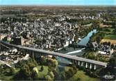 """72 Sarthe / CPSM FRANCE 72 """"Beaumont sur Sarthe, vue générale aérienne"""""""