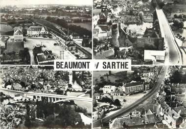 """/ CPSM FRANCE 72 """"Beaumont sur  Sarthe"""""""