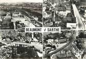 """72 Sarthe / CPSM FRANCE 72 """"Beaumont sur  Sarthe"""""""