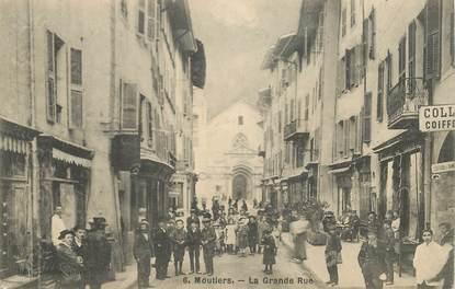 "CPA FRANCE 73 ""Moutiers, la grande rue"""
