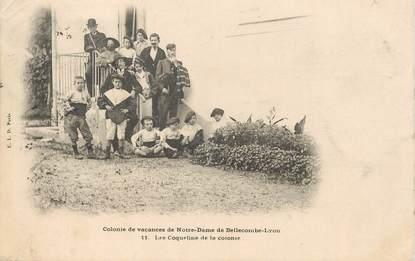 """CPA  FRANCE 73  """"Saint Pierre d'Albigny, colonie de vacances de ND de Bellecombe"""" / JEU d'ENFANTS"""
