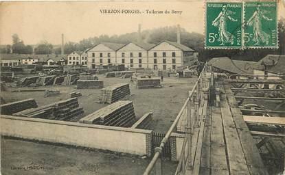 "CPA FRANCE 18 ""Vierzon Forges, Tuilerie du Berry"""