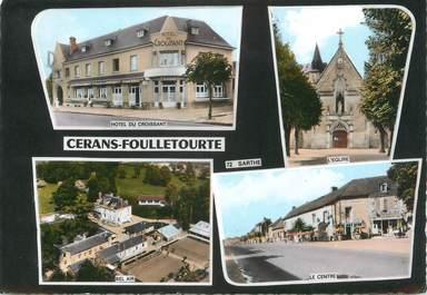 "/ CPSM FRANCE 72 ""Cérans Foulletourte"""