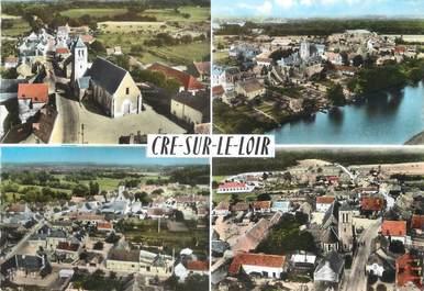 """/ CPSM FRANCE 72 """"Cré sur Le Loir"""""""
