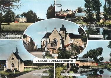 """/ CPSM FRANCE 72 """"Cerans Foulletourte"""""""