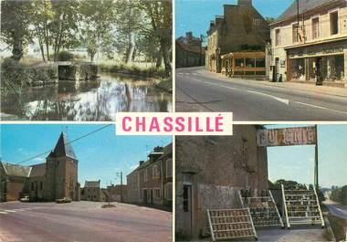 """/ CPSM FRANCE 72 """"Chassillé, vue d'ensemble'"""""""