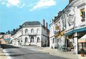 "72 Sarthe / CPSM FRANCE 72 ""Ecommoy, la place"""