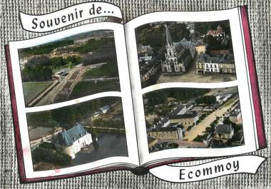 """/ CPSM FRANCE 72 """"Ecommoy """""""