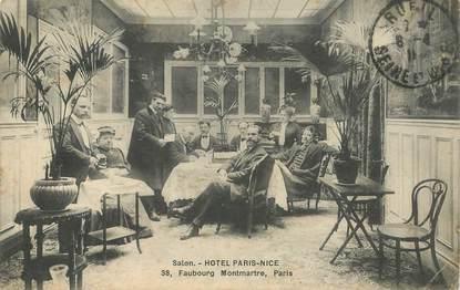 """CPA FRANCE 75009 """"Paris, Hotel Paris Nice, Faubourg de Montmartre"""""""