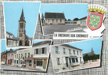 """/ CPSM FRANCE 72 """"La Fresnaye sur Chédouet"""""""