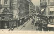 """75 Pari CPA FRANCE 75009 """"Paris, rue du Faubourg Montmartre, le grand carrefour Drouot La Fayette"""""""