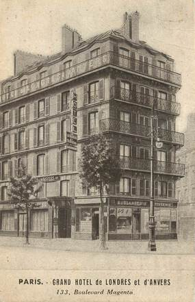 "CPA FRANCE 75009  ""Paris, Grand Hotel de Londres et d'Anvers"""