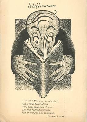 "CPA FRANCE 75009 ""Paris, Librairie le Bibliomane, avenue Trudaine"""