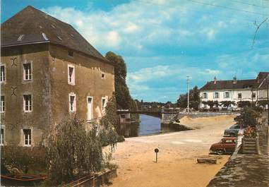 "/ CPSM FRANCE 72 ""Malicorne, les bords de la Sarthe"""