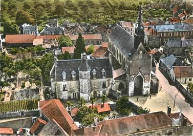 """/ CPSM FRANCE 72 """"Mamers, l'église Notre Dame"""""""