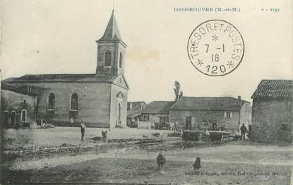 """/ CPA FRANCE 54 """"Grosrouvre"""""""