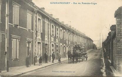 """/ CPA FRANCE 54 """"Gouraincourt, rue du Pont des Loges"""""""