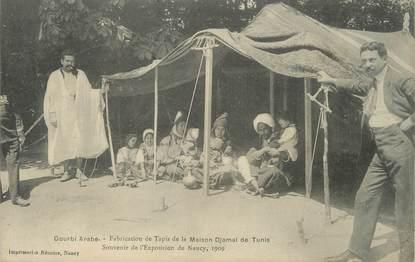 """/ CPA FRANCE 54 """"Exposition de Nancy, Gourbi Arabe"""""""